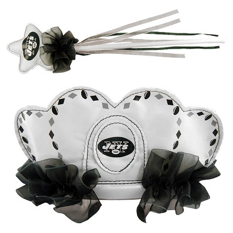 New York Jets Bleacher Creatures Princess Tiara & Wand Set
