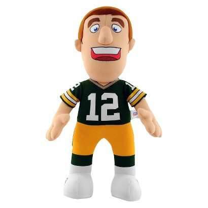 "Bleacher Creatures Packers Rodgers Plush Doll (14"")"