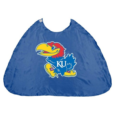 Kansas Jayhawks Bleacher Creatures Royal Hero Cape (One Size)