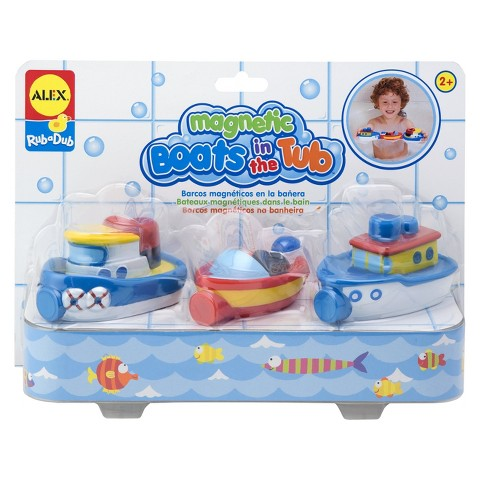Alex Toys Magnetic Boats In The Tub  Bath Toy