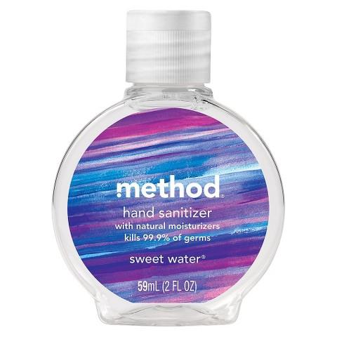 Method Hand Sanitizer - Sweet Water - 2 oz Assorted Designs