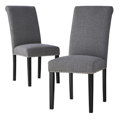 Avington Dining Chair with Nailheads - Set of 2