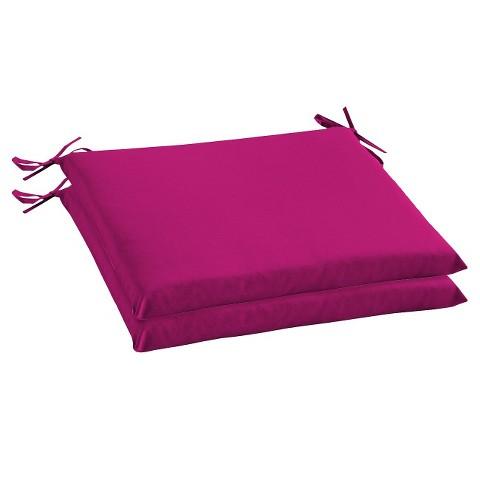 Room Essentials™ 2-Piece Outdoor Seat Cushion Set - Senario Rose