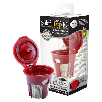 SOLOFILL SINGLE CUP REUSABLE COFFEE FILTER