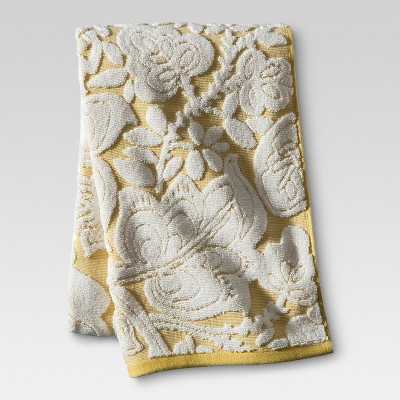 Threshold™ Floral Bath Towel - Yellow