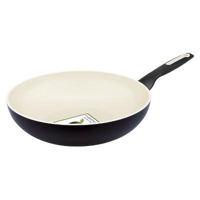 Green Pan Wok White 11