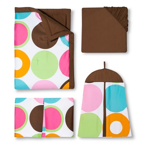 Sweet Jojo Designs Deco Dot 11 pc. Crib Bedding Set
