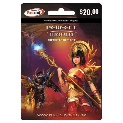 Perfect World Gaming Card - $20