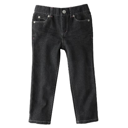 Cherokee® Infant Toddler Girls' Pant - Charcoal