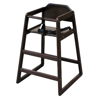 LA Baby Stackable Restaurant Style High Chair