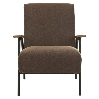 Safavieh Reuben Arm Chair - Brown