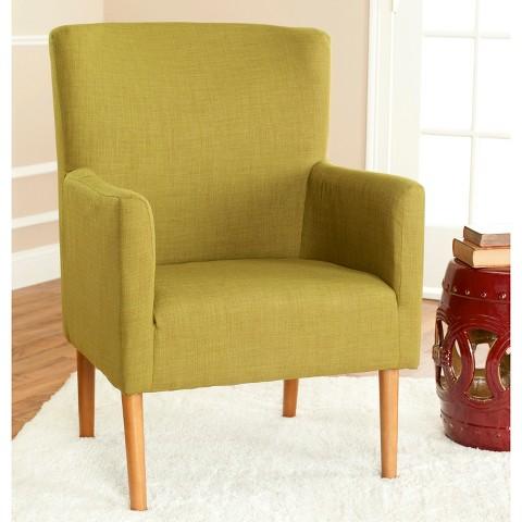 Safavieh Everett Arm Chair - Olive