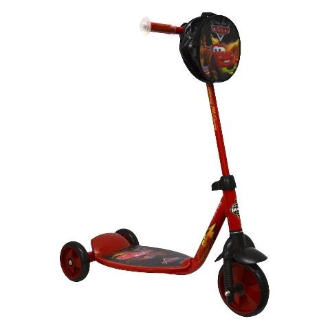 Huffy Disney Cars 2 3-Wheel Kick Scooter - Red/Black