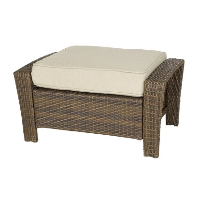 Threshold™ Rolston Wicker Patio Ottoman