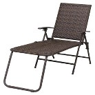 Threshold™ Rolston Wicker Patio Folding Chaise Lounge