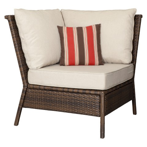 Threshold™ Rolston Wicker Patio Sectional Corner Chair