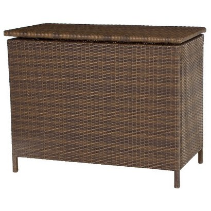 Threshold™ Rolston Wicker Deck Box with Storage