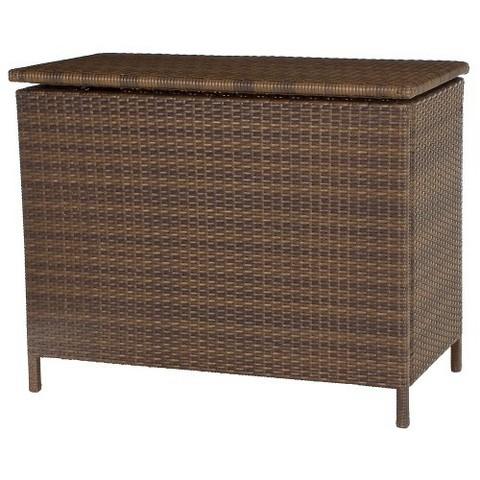 Threshold™ Rolston Wicker Deck Box with Storage