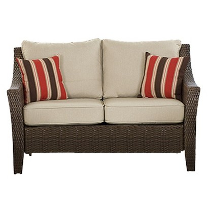 Threshold™ Rolston Wicker Patio Loveseat