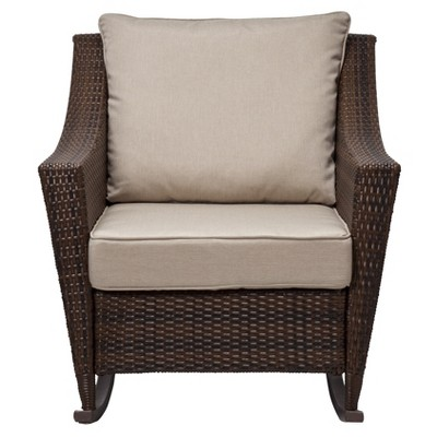 Rolston Wicker Patio Rocker - Threshold™