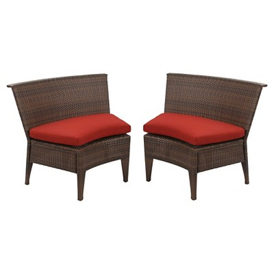 2 Single Chairs - Red - Threshold™