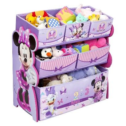 Delta Children's Products Multi-Bin Toy Organizer - Minnie Mouse