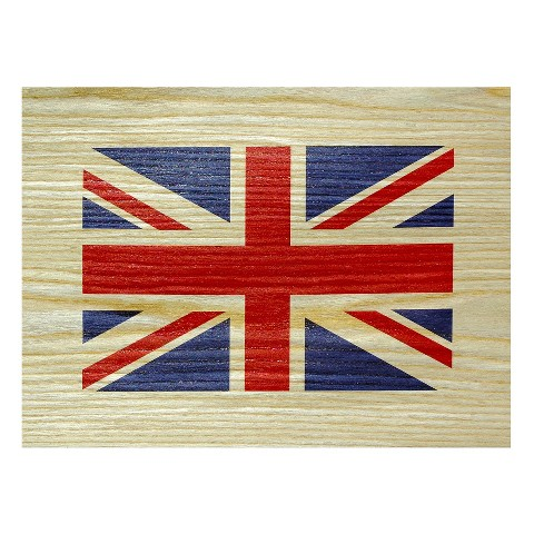 British Flag Printed Wood Veneer