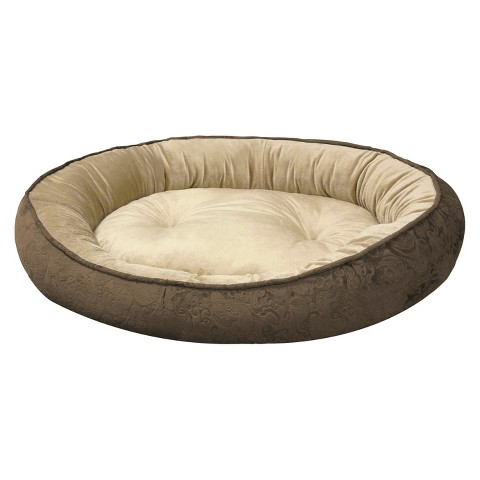 "Canine Creations Cuddler Pet Bed - Mocha (36x30"")"