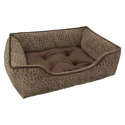 "Canine Creations Lounger Pet Bed - Tan (33x25"")"