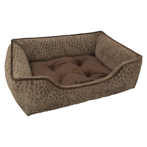 """Canine Creations Lounger Pet Bed - Tan (33x25"""")"""