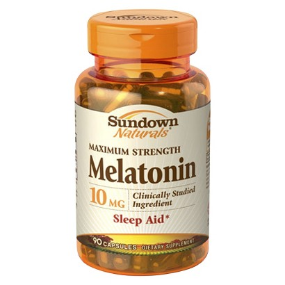 Sundown Naturals® Maximum Strength Sleep Aid Dietary Supplement Capsules - 90 Count