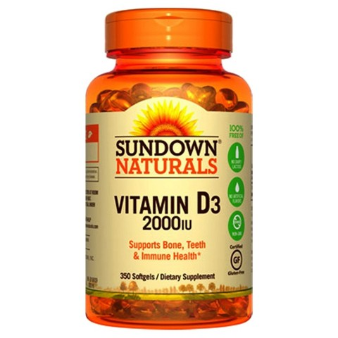 Sundown Naturals® Super Potency Vitamin Supplement Sofgels - 300 Count