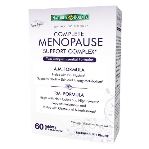 Nature's Bounty® Optimal Solutions® Complete Menopause Support Complex - 60 Tablets