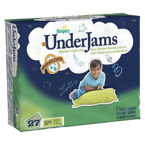 Pampers Boys' UnderJams Training Pants