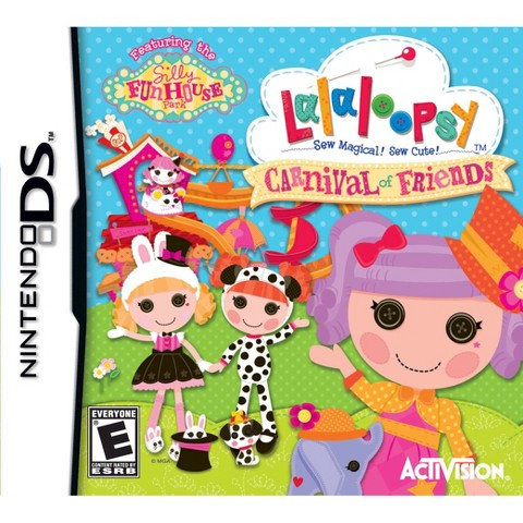 Lalaloopsy Carnival of Friends (Nintendo DS)