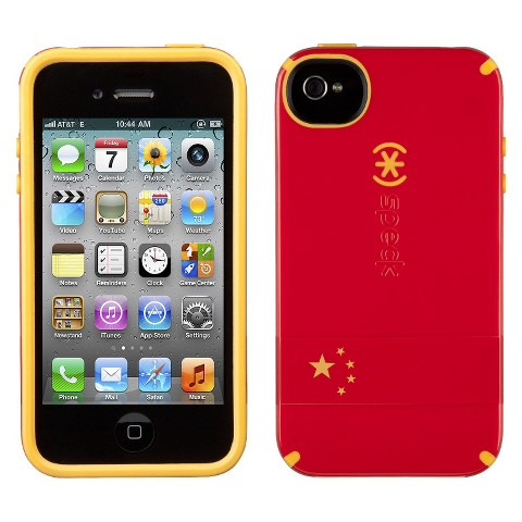 Speck Limited Edition CandyShell China Flag case for iPhone®4S - SPK-A1385