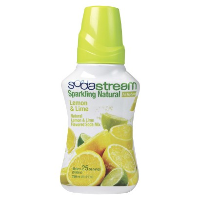 SodaStream™ Sparkling Natural Lemon & Lime Soda Mix