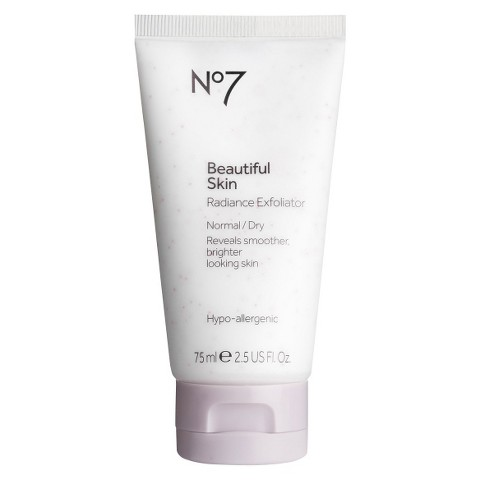 Boots No7 Beautiful Skin Radiance Exfoliator - 2.54 oz