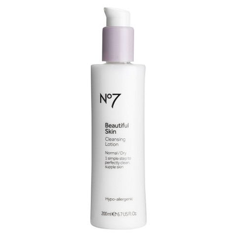 Boots No7 Beautiful Skin Cleansing Lotion - 6.76 oz