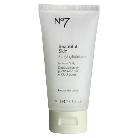 Boots No7 Beautiful Skin Purifying Exfoliator - 2.54 oz