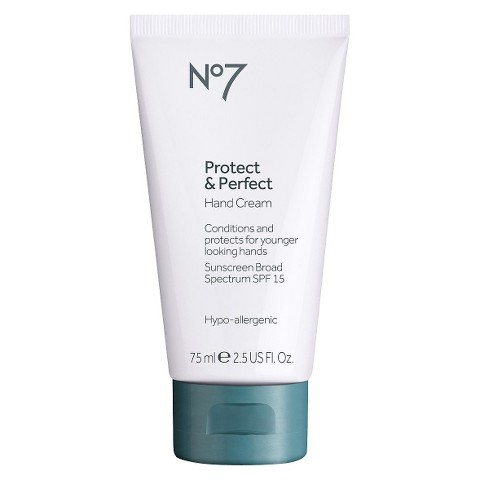 Boots No7 Protect & Perfect Hand Cream SPF15 - 2.54 oz