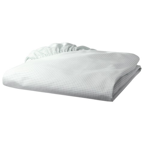 Percale Cotton Gingham Fitted Crib Sheet