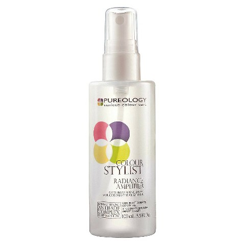 Pureology Colour Stylist Radiance Amplifier Anti Frizz Shine Spray