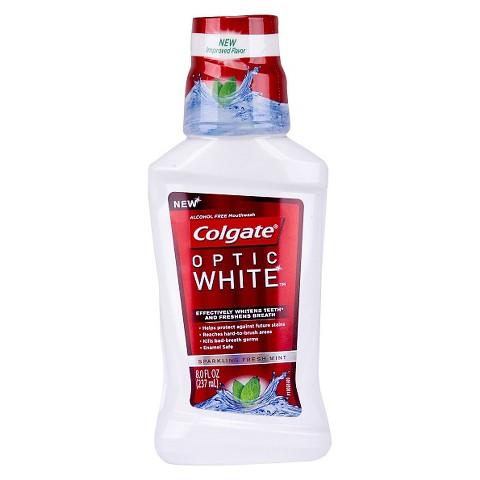 Colgate Optic White Mouthwash 8oz