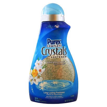 Purex Complete Crystals Laundry Enhancer Fresh Spring Waters 62 Loads 55 oz