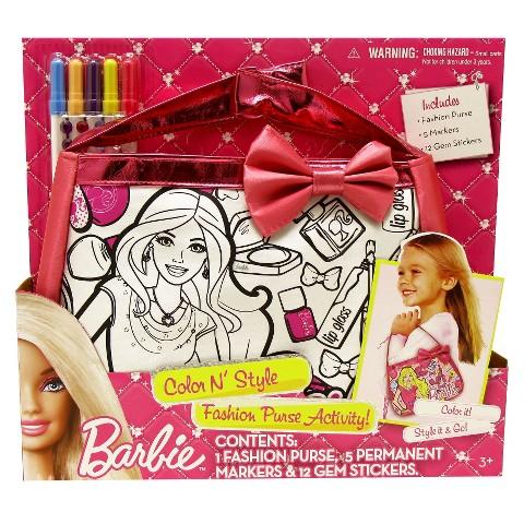 Barbie Color N' Style Fashion Purse