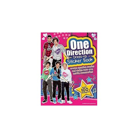 One Direction Dress-up Sticker Book by Claire Sipi (Sticker Book)