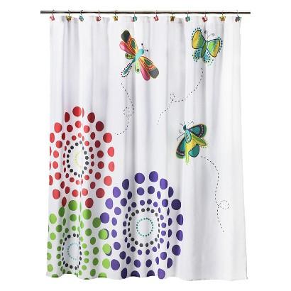 Circo Butterflies Shower Curtain