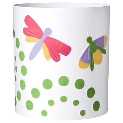 Circo® Butterflies Waste Basket - Pastel