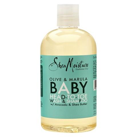 SheaMoisture Olive & Marula Baby Head-To-Toe Wash & Shampoo - 12 fl oz